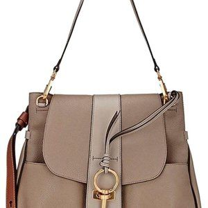 Chloe Lexa Medium Leather Cross Body Bag / Satchel